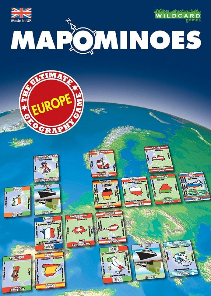 Mapominoes - Europe